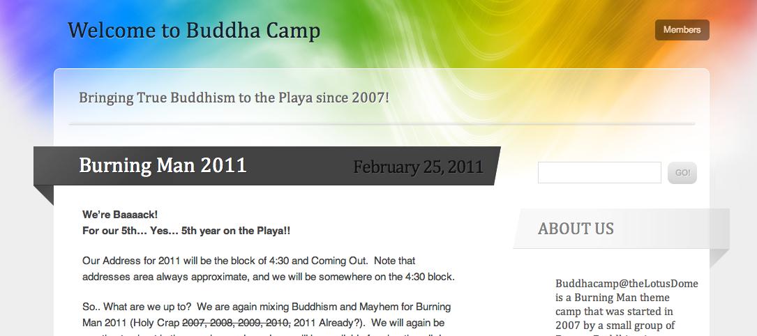 Buddha Camp